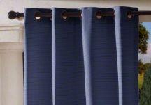 custom grommet outdoor drapes