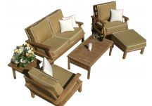 6-Piece Miami Deep Seating Teak Set
