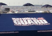 National Guard logo umbrellas