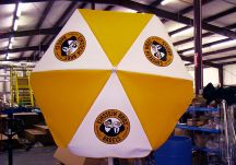 Einstein Bros Bagels logo umbrella