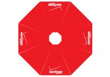 Verizon logo umbrella proof