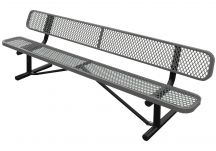 Expanded Tennis Court Bench