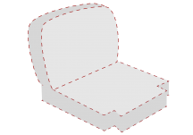 custom deep seating chair cushion
