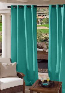 custom grommet outdoor drapes