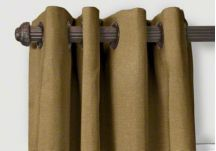 custom grommet drapes