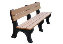 Econo-Mizer Traditional 6' Backed Bench