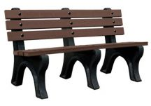 Recycled Slatted Bench