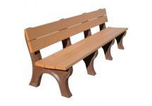 Traditional 8' Backed Bench