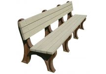Deluxe 8' Backed Bench