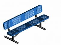 6 ft. UL Portable Bench w/ Back