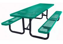 picnic table, commercial picnic table, single post table, single post picnic table, ADA picnic Table