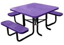 Square ADA Perforated Picnic Table