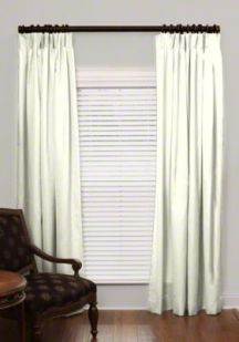 custom pleated drapes