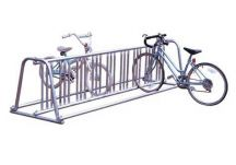 Bike Rack, galvanized