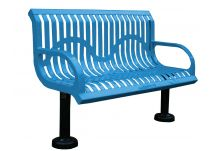 Wingline Classic Style Park Bench
