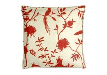 Highland Taylor Teahouse Red Pillow