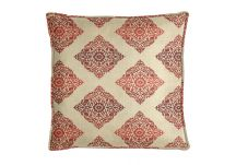 Robert Allen Bikram Fret BK Poppy Pillow