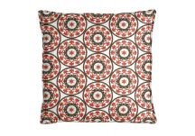 Robert Allen Suzani Poppy Pillow