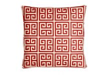 Premier Prints Towers Primary Red Pillow
