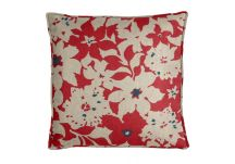 Robert Allen Artful Floral Poppy Pillow