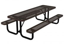 8-foot Quick-Ship Perforated Portable Table