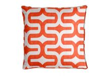 Premier Prints Embrace Tangelo/Slub Pillow