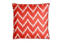 PARA Tempotest Club Chevron Red Pillow