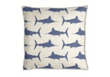 Al Fresco Marlin Royalty Pillow