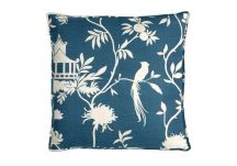 Highland Taylor Teahouse Blue Pillow