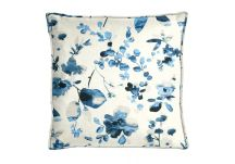 Highland Taylor Watercolor Blue Pillow