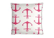 Premier Prints Anchors Candy Pink Pillow