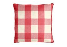 Robert Allen Riley Blocks Fuchsia Pillow