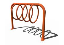 Circular Loop 5 Bike Parking Rack