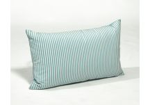 Outdura Longitude Pool and Outdura Canvas Aquatic Amalfi Throw Pillow