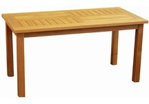 Teak Chippendale Coffee Table