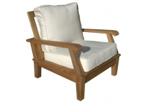 teak deep seating chair