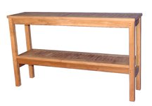 Teak two level Buffet side board