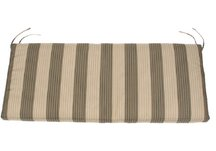 custom bench cushion, striped bench cushion