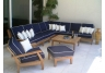 Miami Deep Seating Teak Sectional