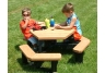 Hexagon Kids Picnic Table