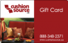 Cushion Source Gift Card
