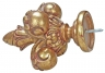 drapery finials, drapery hardware, decorative hardware