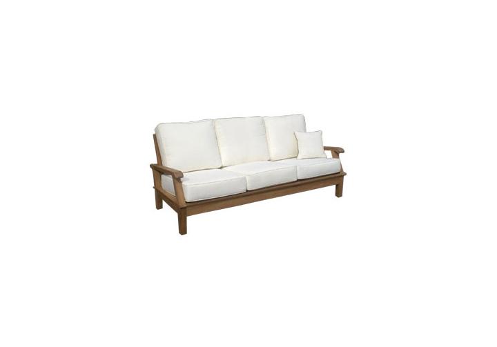 Wondrous Miami Deep Seating Teak Recliner Sofa Highland Taylor Unemploymentrelief Wooden Chair Designs For Living Room Unemploymentrelieforg