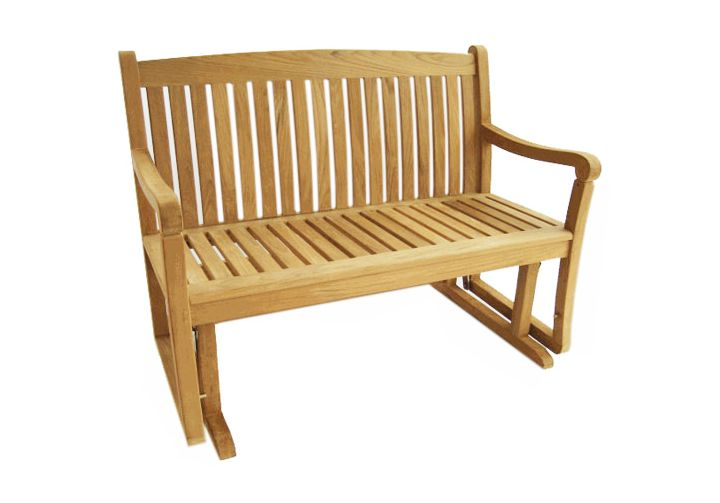4 Teak Glider Bench Teak Furniture Outlet